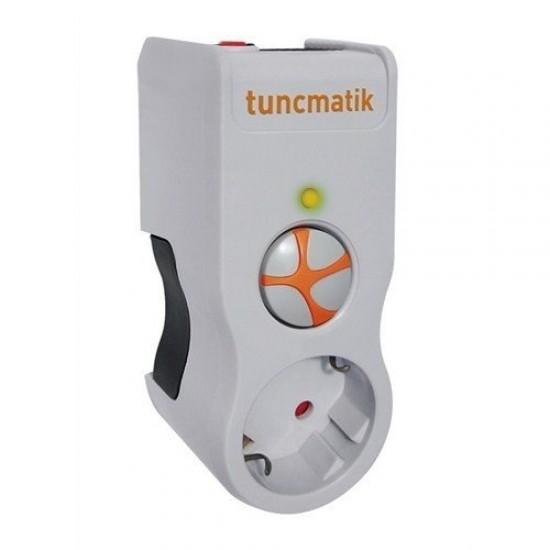 Tuncmatik Enerji Koruma Prizi 1'li Beyaz TSK5078