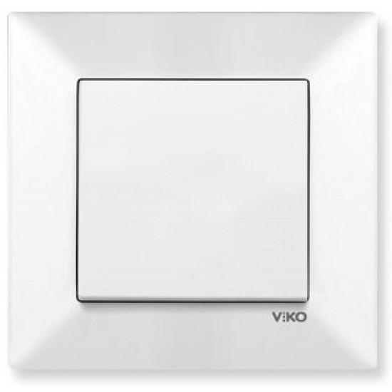 Toptan Viko 12'li Meridian Anahtar (Çerçeve Hariç) - Beyaz