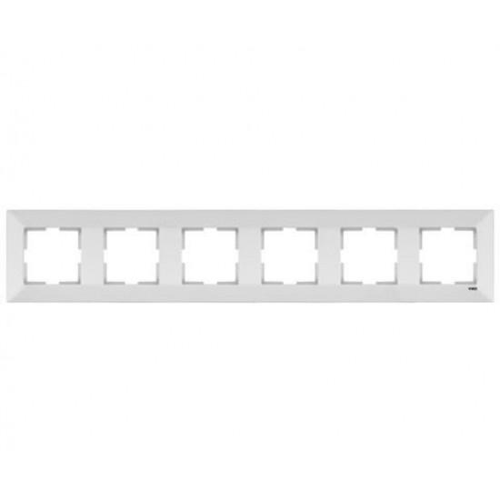 Viko Meridian Altılı Çerçeve - Beyaz