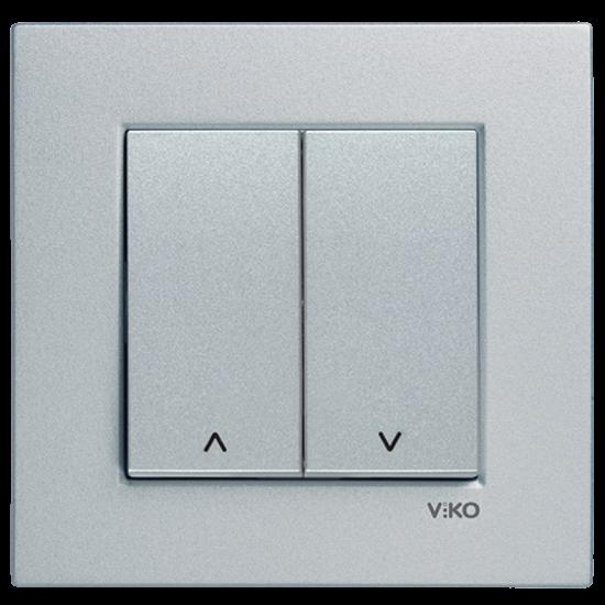 Viko Artline Novella / Trenda 2 Düğmeli Jaluzi Kumanda Anahtarı (Çerçeve Hariç)