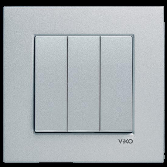Viko Artline Novella 3'lü Anahtar ( Çerçeve Hariç )