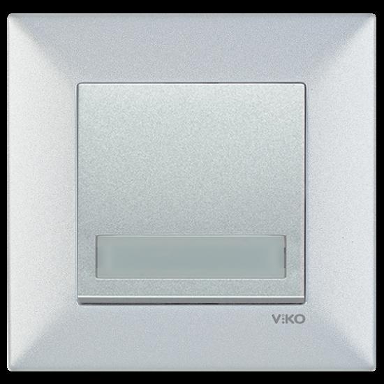 Viko Artline Trenda Işıklı Etiketli Zil Anahtarı (Çerçeve Hariç)