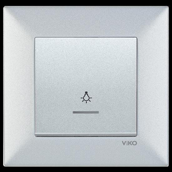 Viko Artline Trenda Işıklı Light Anahtarı (Çerçeve Hariç)