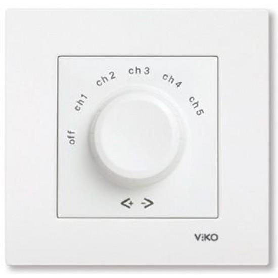 Viko Kanal Seçme Anahtarı - Beyaz (Çerçeve Hariç) 90967082