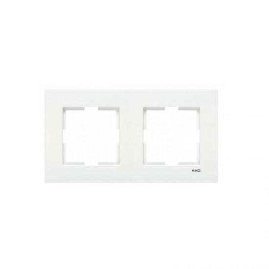 Viko Karre İkili Çerçeve - Beyaz 90960201