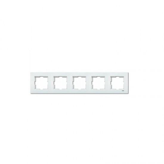 Viko Karre Beşli Çerçeve - Beyaz 90960204