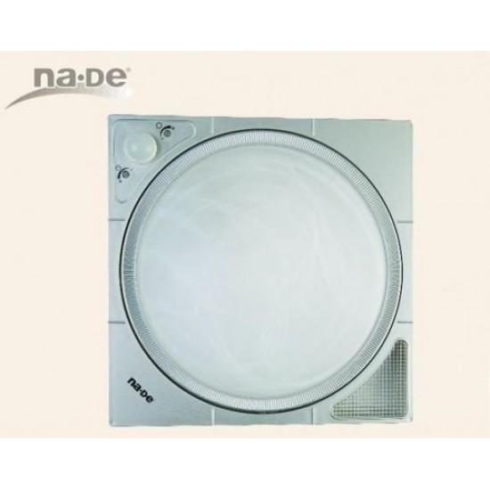 360 Hareket Sensörlü Led Işıldaklı Tavan Armatürü - Gümüş Gri Nade 10700