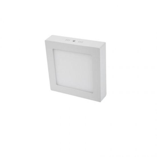 Cata 18W Kare Sıva Üstü Led Panel Armatür - Beyaz Işık CT-5234 Alüminyum Kasa