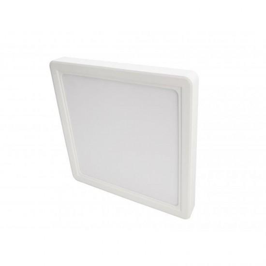 Cata 18W Kare Sıva Üstü Led Panel Armatür - Gün Işığı CT-5234G Plastik Kasa