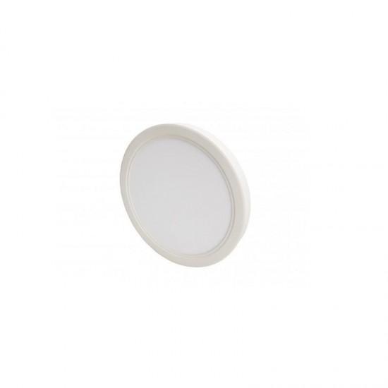 Cata 18W Yuvarlak Sıva Üstü Led Panel Armatür - Beyaz Işık CT-5233 Plastik Çerçeve