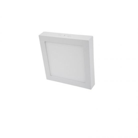 Cata 24W Damla Kare Sıva Üstü Led Panel Armatür CT-5272 - Beyaz Işık Alüminyum Kasa