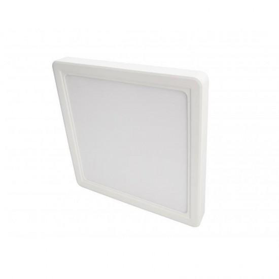 Cata 25W Damla Kare Sıva Üstü Led Panel Armatür CT-5272 - Beyaz Işık Plastik Kasa