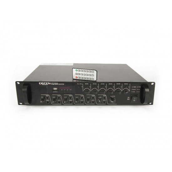 DP-7406S 300W 6 Zone Mikser Amfi USB/SD+FM TUNER Bluetooth