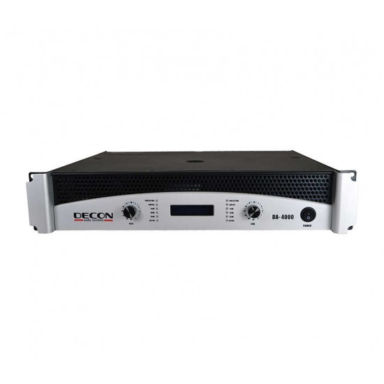 DA-4000 2x350 W/8OHM 2X500 W-4OHM Power Amplifier