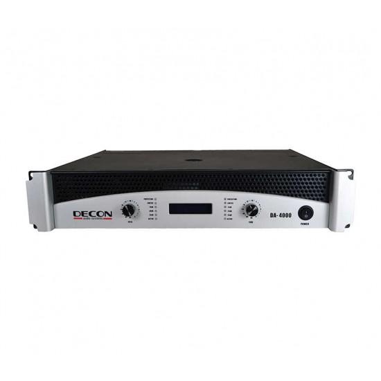 DA-4000 2x350 W/8OHM 2X500 W-4OHM Power Amplifier
