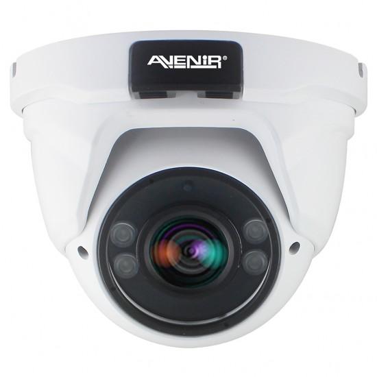 AV-DV404AHD 4 MP 2.8-12mm VF Lens İç/Dış Mekan AHD Dome Kamera