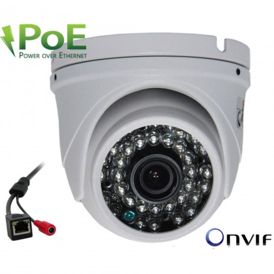 Ip Kamera SV-459IP 5 MP 3.6mm POE